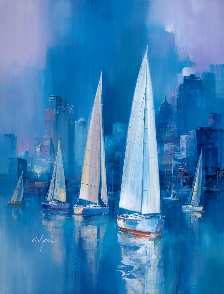 Into the Blue I by wilfred -  sized 45x34 inches. Available from Whitewall Galleries